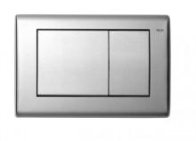 Produktbild: TECEplanus WC-Betätigungsplatte 2-Mengen-Spülung, Edelstahl gebürstet