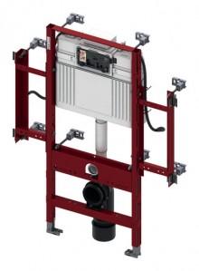 Produktbild: TECEprofil Gerontomodul für Wand-WC BH 1120 mm, Sitzhöhe 48 cm