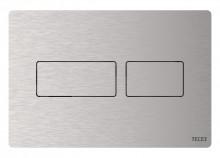 Produktbild: TECEsolid WC-Betätigungsplatte für 2-Mengen-Spülung,Edelstahl gebürstet