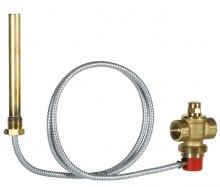 "Produktbild: Thermische Ablaufsicherung TS 131 3/4""A, Kapillarrohr m. Schutzr. 1300 mm"