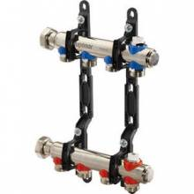 Produktbild: UPONOR Profi H Verteiler  10-fach, 522 mm UPONOR Profi H Verteiler  9-fach, 472  mm für Heizkörperanbindung