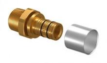 """Produktbild: Uponor Press-Nippel Rapex  14-R1/2""""MT VPE (10 Stück)"""