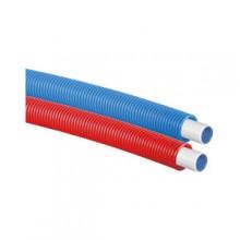 Produktbild: Uponor Uni Pipe PLUS weiß im Schutzrohr  16x2,0 - 25/20 blue 75m