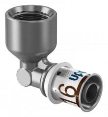 "Produktbild: Uponor Winkelmuffe / Übergangswinkel S-Press PLUS 90° 16-R1/2"" FT"