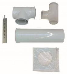 Produktbild: VA Basis-Anschluss-Set DN110/160mm PP an Abgas DN110mm im Schacht