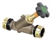 Produktbild: Viega Schrägsitzventil mit SC Easytop  5337.5 in 25mm Rotguss