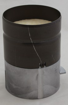 Produktbild: WOLF Brennkammertopf D118 mit Isolierung 80 mm für CGB(-K)-11/20/2
