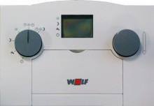 Produktbild: WOLF analoger Raumtemperaturregler ART mit Tagesprogramm