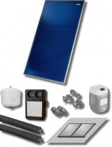 Produktbild: Wolf Paket 5 Kollektoren TopSon CFK-1 Aufdach, Solarmodul SM2-1