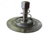 """Produktbild: Scheibenrückschlagventil, B-Druck 10 bar 3/4"""", max. 130°C, Aussen-Ø 39 mm"""
