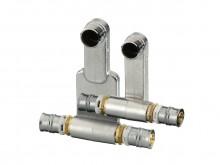 "Produktbild: alpex F50 Profi HK-Anschluss-Set  20 x 1/2"" AG x 20 mm MS VE= 1 Stück"
