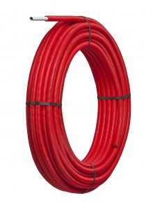 Produktbild: alpex F50 Profi Mehrschichtverbundrohr 16 x 2,0  50m Ring, im Schutzrohr rot