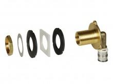 "Produktbild: alpex F50 Profi UP-Spülkastenwinkel-Set inkl. Montageset Typ ""UP""  16 mm x 1/2"" IG x 3/4"" AG MS"