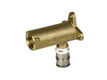 """Produktbild: ALPEX F50 PROFI Wandwinkel 52 mm, 90° 16 mm x 1/2"""" IG, Messing"""