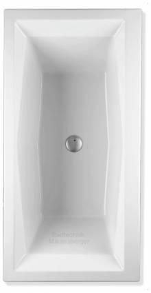 Produktbild: duoformis Badewanne 80  1800 x 800 x 480mm weiß