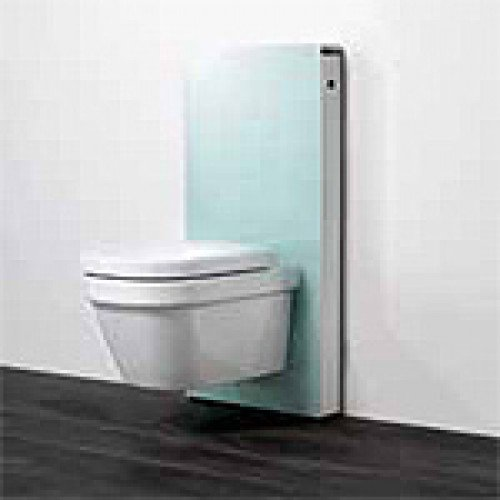 monolith sanit rmodul f r wand wc 101 cm glas mint kunststoff wei 131022sl1 geberit. Black Bedroom Furniture Sets. Home Design Ideas