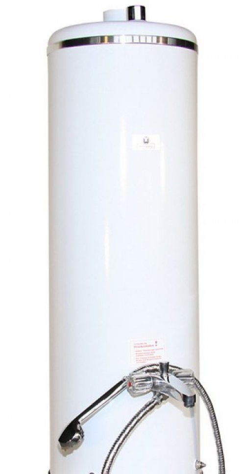 badeofen oberteil weiss 100 liter ohne mischbatterie mit rb 38304893 wittigsthal hahn. Black Bedroom Furniture Sets. Home Design Ideas