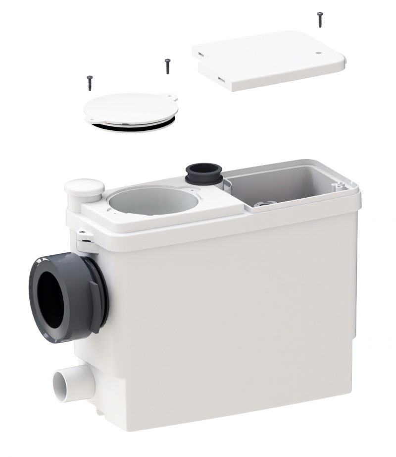 sanipack pro up wc f rdersystem 14 6 cm tiefe f r vorwandsysteme zum anschluss an h nge wc. Black Bedroom Furniture Sets. Home Design Ideas